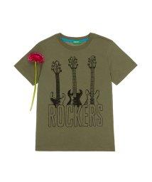 BENETTON (UNITED COLORS OF BENETTON BOYS)/ロックバンド半袖Tシャツ・カットソー/501567875