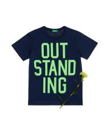 BENETTON (UNITED COLORS OF BENETTON BOYS)/シンプルメッセージ半袖Tシャツ・カットソー/501567877