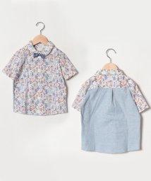 SENSE OF WONDER/DapperDオーガニック蝶タイ付きシャツ/501569312
