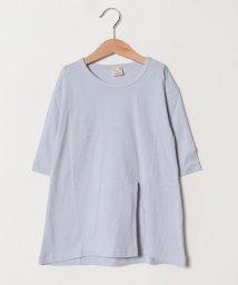 petit main/ロングスリット長袖Tシャツ/501573228