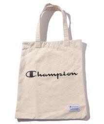 MARUKAWA/【Champion】キャンバストートバッグスクリプトロゴ/501579692