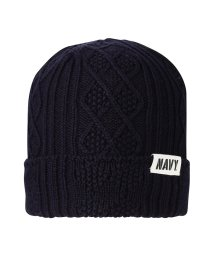 MAC HOUSE(men)/Navy ワッチキャップ ME38174/501582807