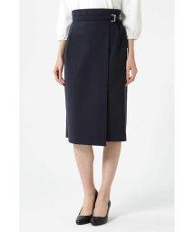 NATURAL BEAUTY/アシンメトリーラップタイトスカート/501586060