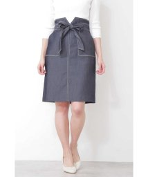 PROPORTION BODY DRESSING/バイカラーステッチポケットタイトスカート/501586070