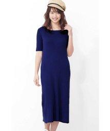 PROPORTION BODY DRESSING/|CanCam 5月号掲載|ロングリブニットワンピース/501586079