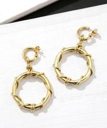 nano・universe/SOKO/KAMBA DANGLE PIERCED EARRINGS/501587742