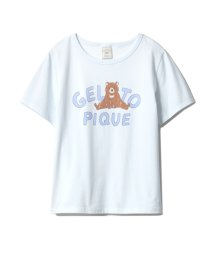 gelato pique/アルファベットアニマルTシャツ/501588166