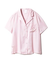 gelato pique/【SAKURA FAIR】チェリーブロッサムエンブロイダリーサテンシャツ/501588179