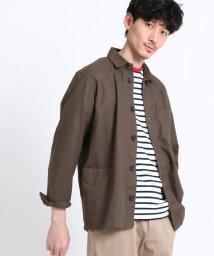 THE SHOP TK/【WEB限定】リネンカバーオール/501588226