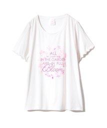 gelato pique/【SAKURA FAIR】チェリーブロッサムワンポイントTシャツ/501588378