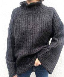NANING9/NANING9(ナンニング)ベルスリーブハイネックセーター/501572868