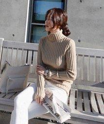 NANING9/NANING9(ナンニング)リブ編みタートルネックセーター/501572921