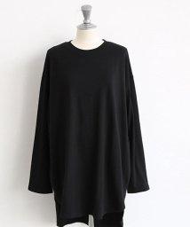 NANING9/NANING9(ナンニング)ラウンドカット長袖Tシャツ/501572952