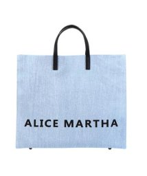 ALICE MARTHA/ALICE MARTHA Rabiaロゴトートバッグ/501572971