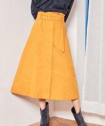 NAIN/NAIN ベルト付Aラインスカート/501573027