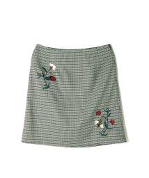 NAIN/NAIN 刺繍ミニスカート/501573032