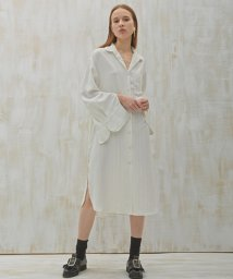 SWBD Sewing Boundaries/SWBD ロングシャツワンピース/501573060