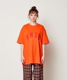 SWBD Sewing Boundaries/SWBD ロゴベーシックTシャツ/501573073