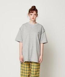 SWBD Sewing Boundaries/SWBD テープデコレーションTシャツ/501573074