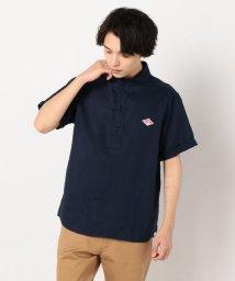 GLOSTER/【DANTON/ダントン】リネン丸襟半袖シャツ JD-3569KLS/501580631