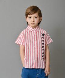branshes/【★CONVERSE/コンバース】ストライプ半袖シャツ(90~150cm)/501588095