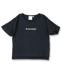 branshes/【★CONVERSE/コンバース】袖レース半袖Tシャツ(90~150cm)/501588100