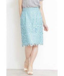 PROPORTION BODY DRESSING/リボンケミカルレースタイトスカート/501588621