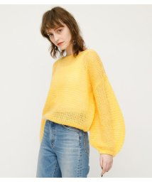 SLY/MOHAIR MIX LOOSE TOPS/501588698