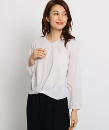 SunaUna/【洗える】フロントタックブラウス/501590244
