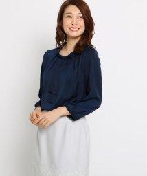 SunaUna/【洗える】ボータイジョーゼットブラウス/501590395