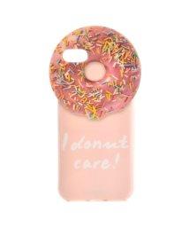 IPHORIA/【iPhone8/iPhone7 対応】 Round Case I Donut Care!/501590451
