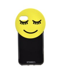 IPHORIA/【iPhone8/iPhone7 対応】 Round Case Yellow Smiley/501590453
