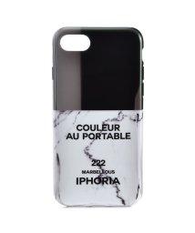IPHORIA/【iPhone8/iPhone7 対応】 ネイルボトルシリーズ Couleur au Portable Marbellous/501590455