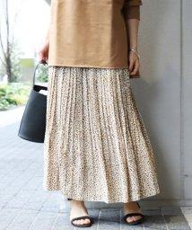 NOBLE/ニュアンスプリーツロング スカート◆/501537862