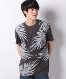 SISLEY/リーフプリント半袖Tシャツ・カットソー/501570582