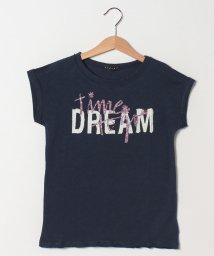 SISLEY YOUNG/プリントワイドスリーブ半袖Tシャツ・カットソー/501570772