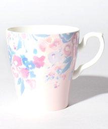 Afternoon Tea LIVING/水彩フラワー柄マグカップ/501583600