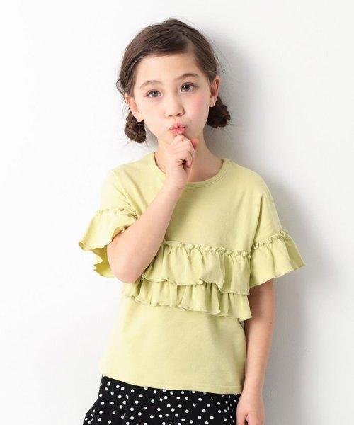 devirock(デビロック)/ガールズデザインTシャツ/DT0107
