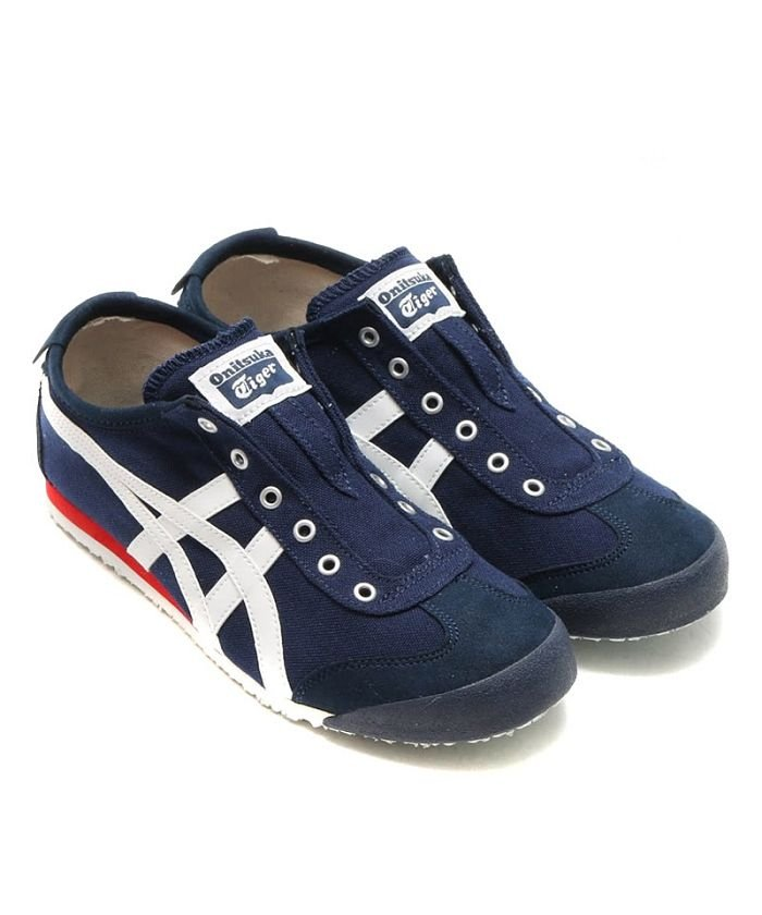 huge selection of 32c01 17fc7 Onitsuka Tiger MEXICO 66 SLIP-ON NAVY/OFF WHITE(501591318 ...