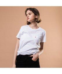 Levi's/ポケットTシャツ WHITE/501592709