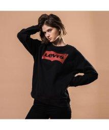 Levi's/バットウィングロゴスウェットシャツ-ブラック/501592885