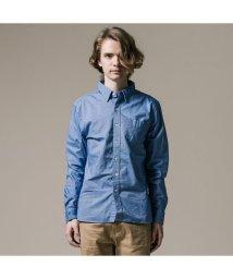 Levi's/サンセットワンポケットシャツ-サックスブルー/TrueBlueXX/501593400
