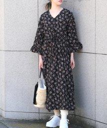 ANDJ/2way花柄ガウンワンピース/501593968