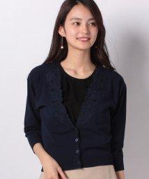 JUSGLITTY/レース刺繍ゆるカーデ/501594580
