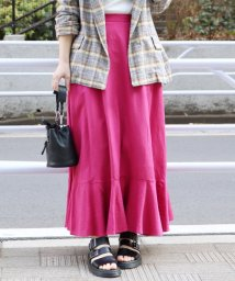 JOURNAL STANDARD/レーヨン麻フリルスカート◆/501594920