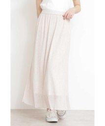 PROPORTION BODY DRESSING/ミニプリーツシアーニットスカート/501588628