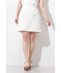 PROPORTION BODY DRESSING/《EDIT COLOGNE》ケミカルレースミニスカート/501591864