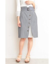PROPORTION BODY DRESSING/ストライププリーツタイトスカート/501595253