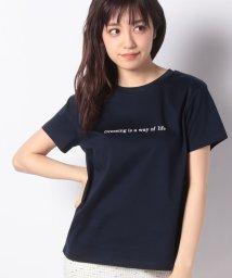 JUSGLITTY/ロゴTシャツ/10015068N