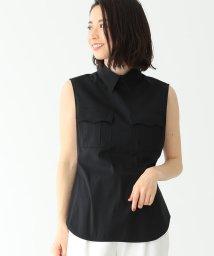 Demi-Luxe BEAMS/CINOH / 2ポケット ノースリーブシャツ/501459605